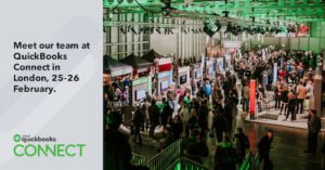 Meet us at QuickBooks Connect 2019 in London